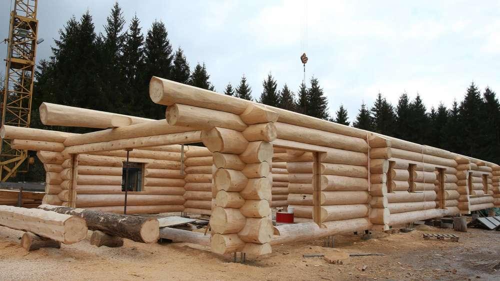 Dieses Monster Blockhaus Wird Bald Das Zuhause Einer Kleinen Familie