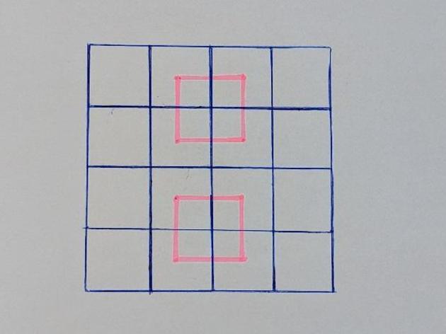 IQ-Test für Schlaue: Wie viele Quadrate sehen Sie?