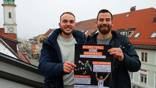 Basketball meets Handball: Das gab's in Murnau noch nie