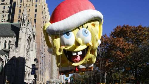 Thanksgiving-Parade in New York bei eisiger Kälte