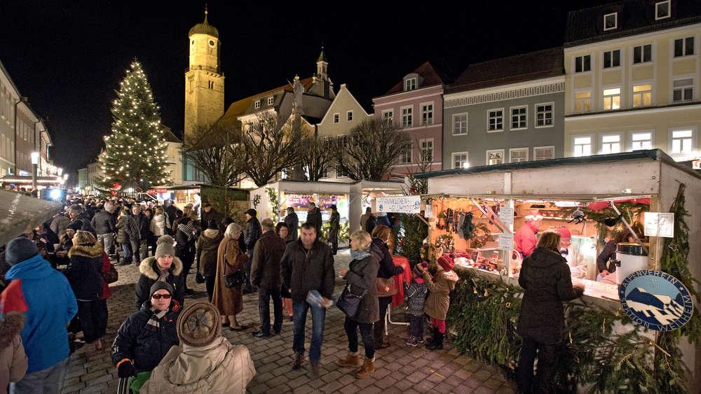 Kloster Andechs Weihnachtsmarkt.Weilheim Penzberg Polling Die Schonsten Weihnachtsmarkte In