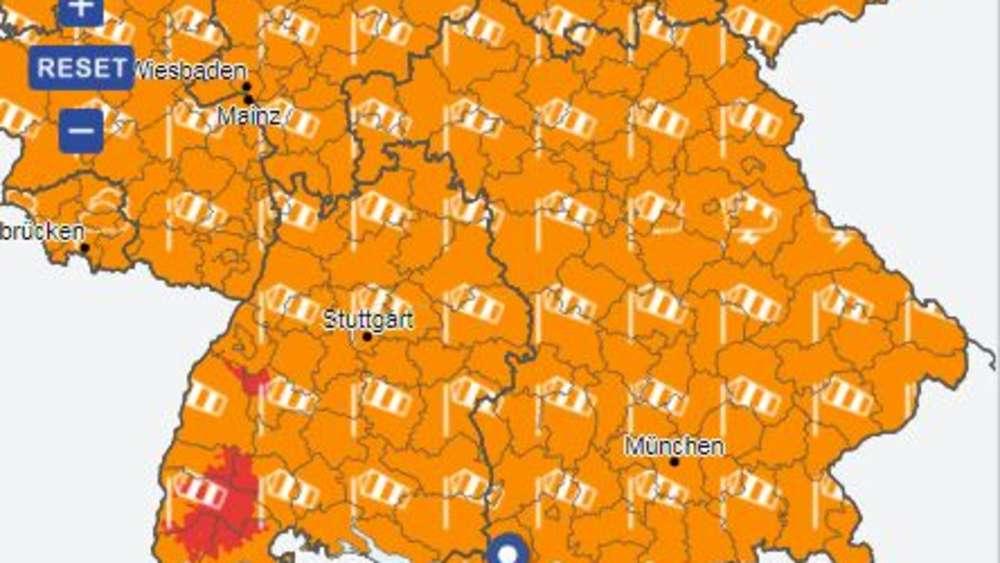 Wetter München Weihnachten 2019.Wetter In Deutschland An Weihnachten Vorhersage Für Heiligabend Und