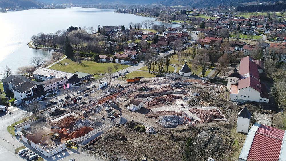 Gasaustritt Auf Hotel Baustelle In Bad Wiessee Leck Wurde