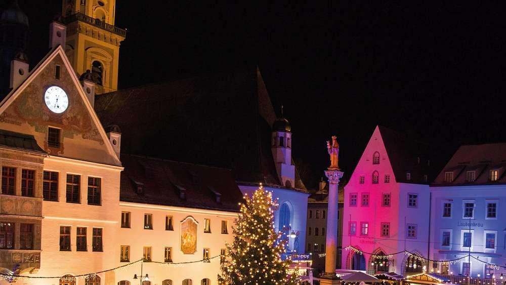 Marienplatz Weihnachtsmarkt.Freising Christkindlmarkt Mit Herz Das Ist Am 3 Advent Auf Dem
