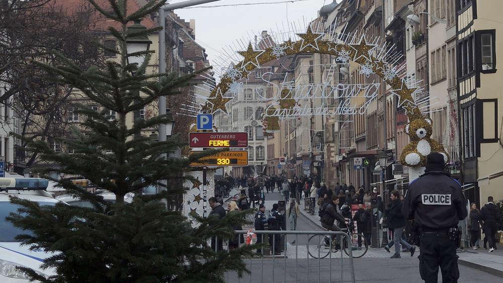 In der Nähe eines Weihnachtsmarkts in Straßburg sind Schüsse gefallen.(Archivbild)