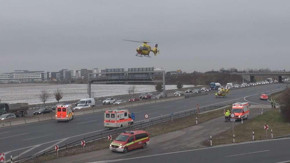 Unfall In Garching Bei Münchena9 Polizei Nennt Details Eine