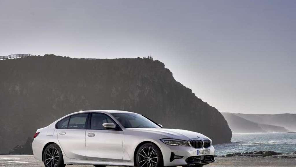 Auftakt: Der neue 3er BMW startet im Frühjahr als Limousine, später folgt der Kombi Touring. Foto:Guenter Schmied/BMW AG