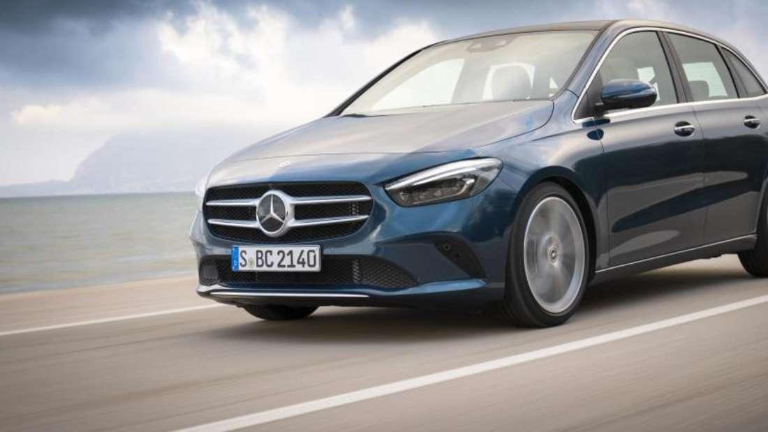 Neue Generation: Mercedes bringt das neue Modelle seiner B-Klasse. Foto: Daimler AG