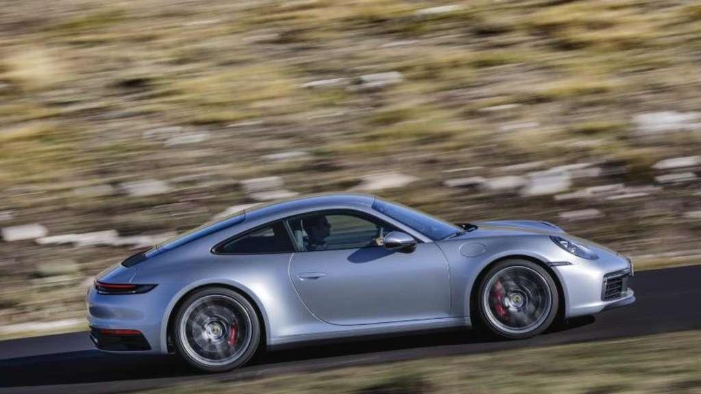 Frischer Klassiker: Der Porsche 911 in neuester Generation. Foto:Porsche AG