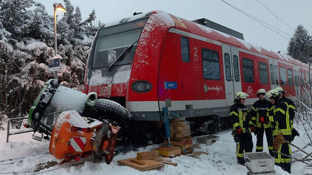 S Bahn Entgleist