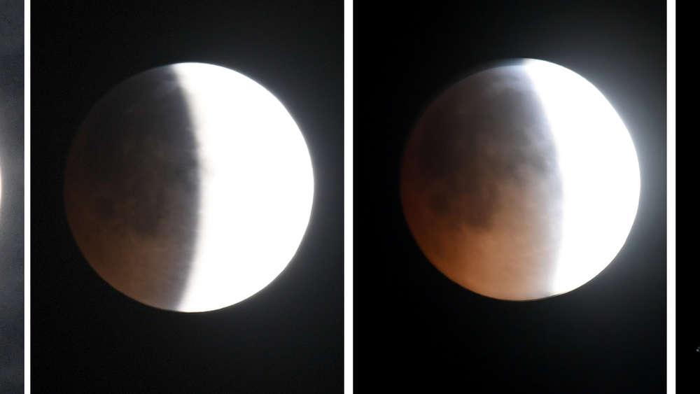 Mondfinsternis Am 21 Januar 2019 Blutmond In Bildern Und Im Video