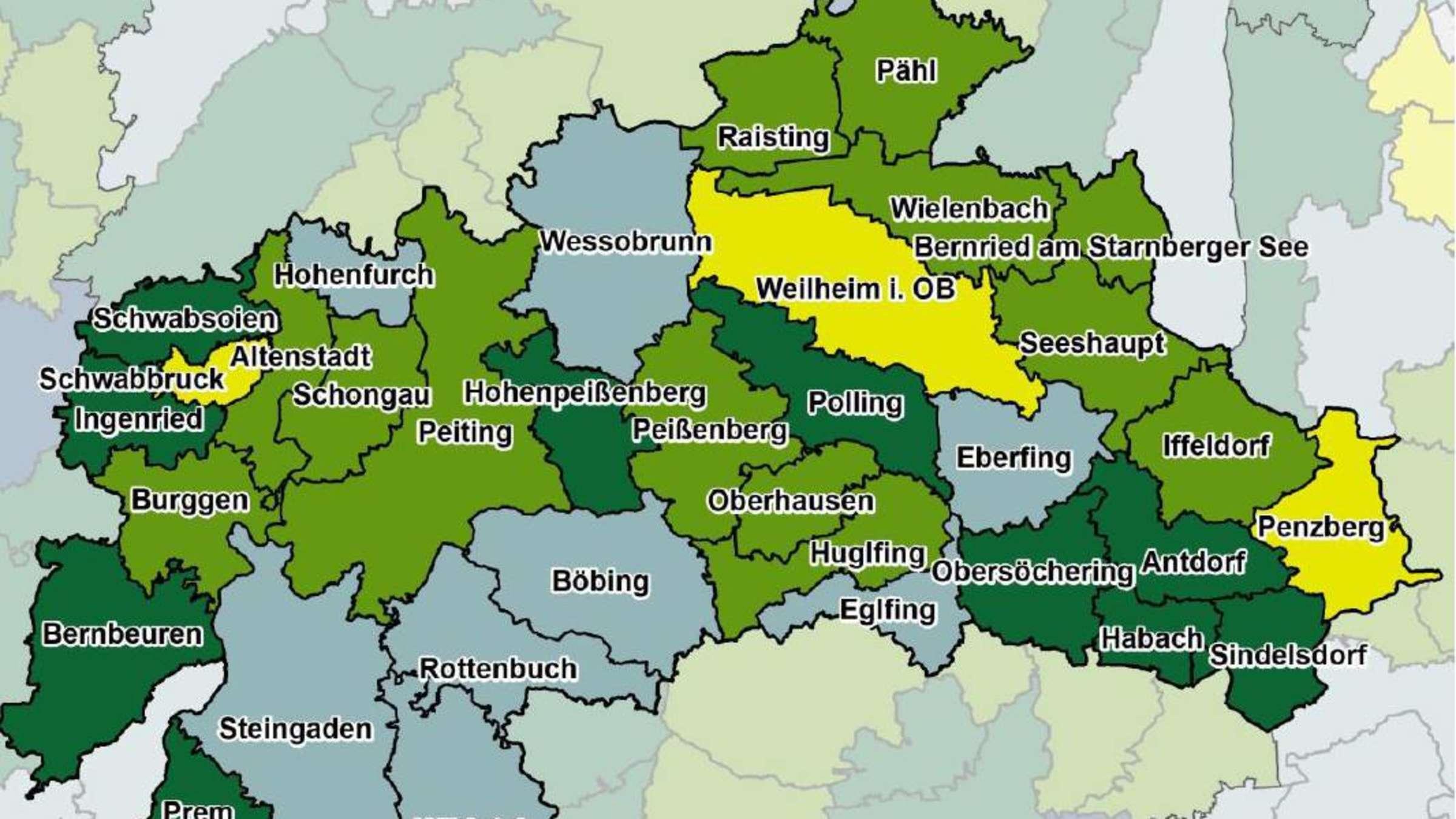 Weilheim Schongau Bayern Landkreis Hinkt Beim Breitbandausbau