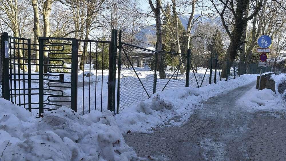 Zaun Fur Michael Ende Kurpark In Garmisch Kritik An Hohe Und Optik