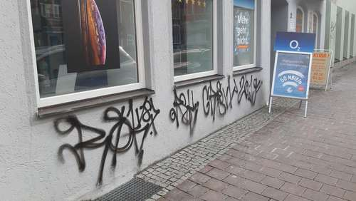 Graffiti-Sprayer festgenommen