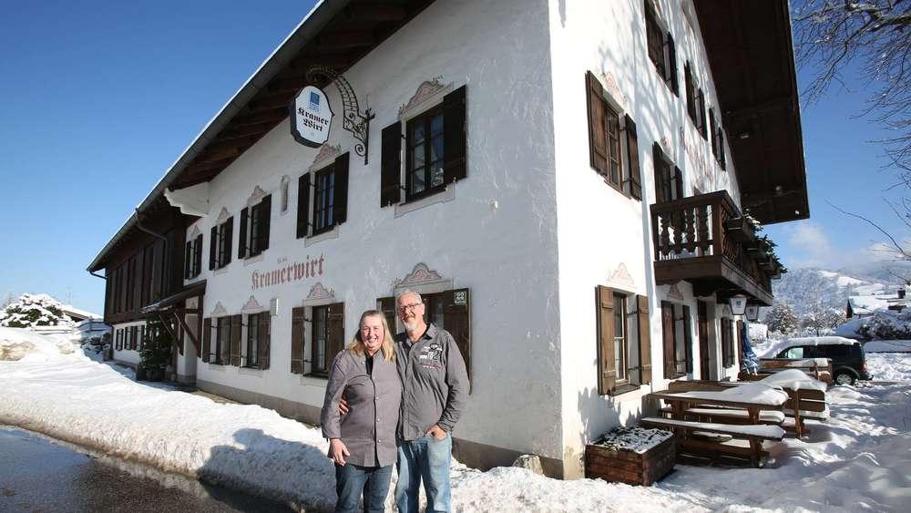 Das Sind Die Neuen Wirte Beim Kramerwirt In Arzbach Bad Tölz