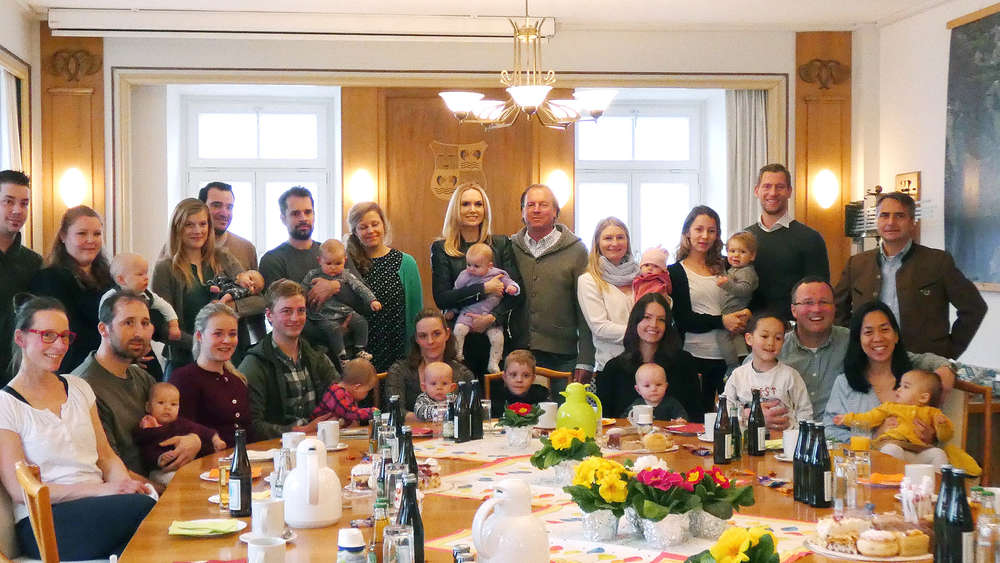 Tegernsee feiert Baby-Party