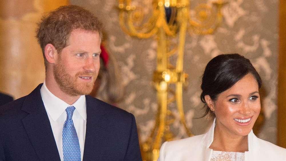 Meghan Markle Und Prinz Harry Hollywood Star Könnte Pate Von Royal