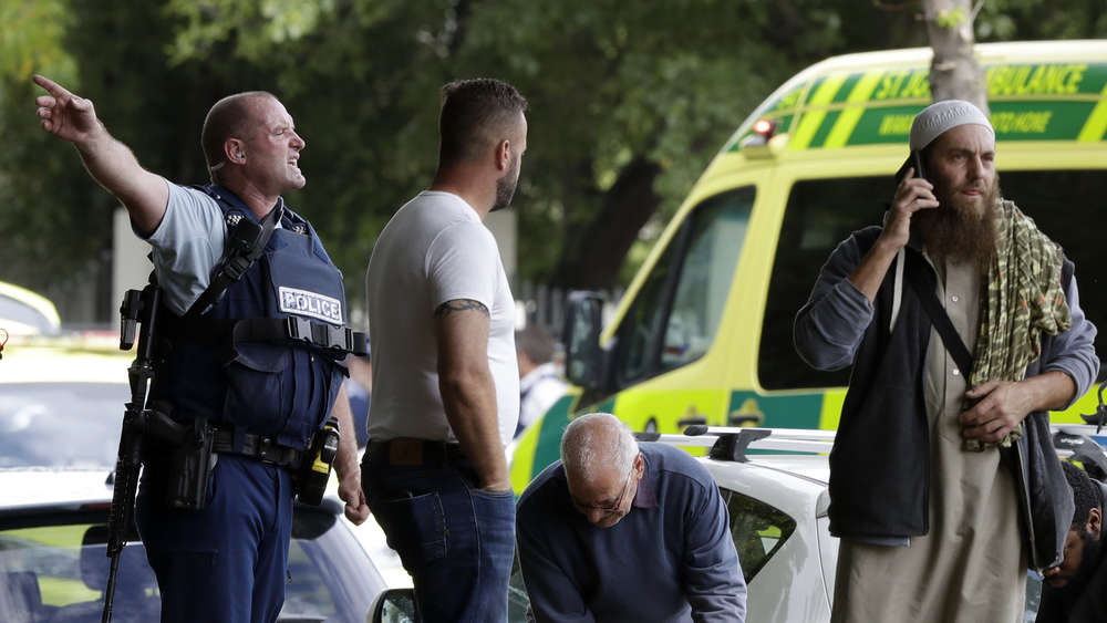 Attentat in Christchurch.