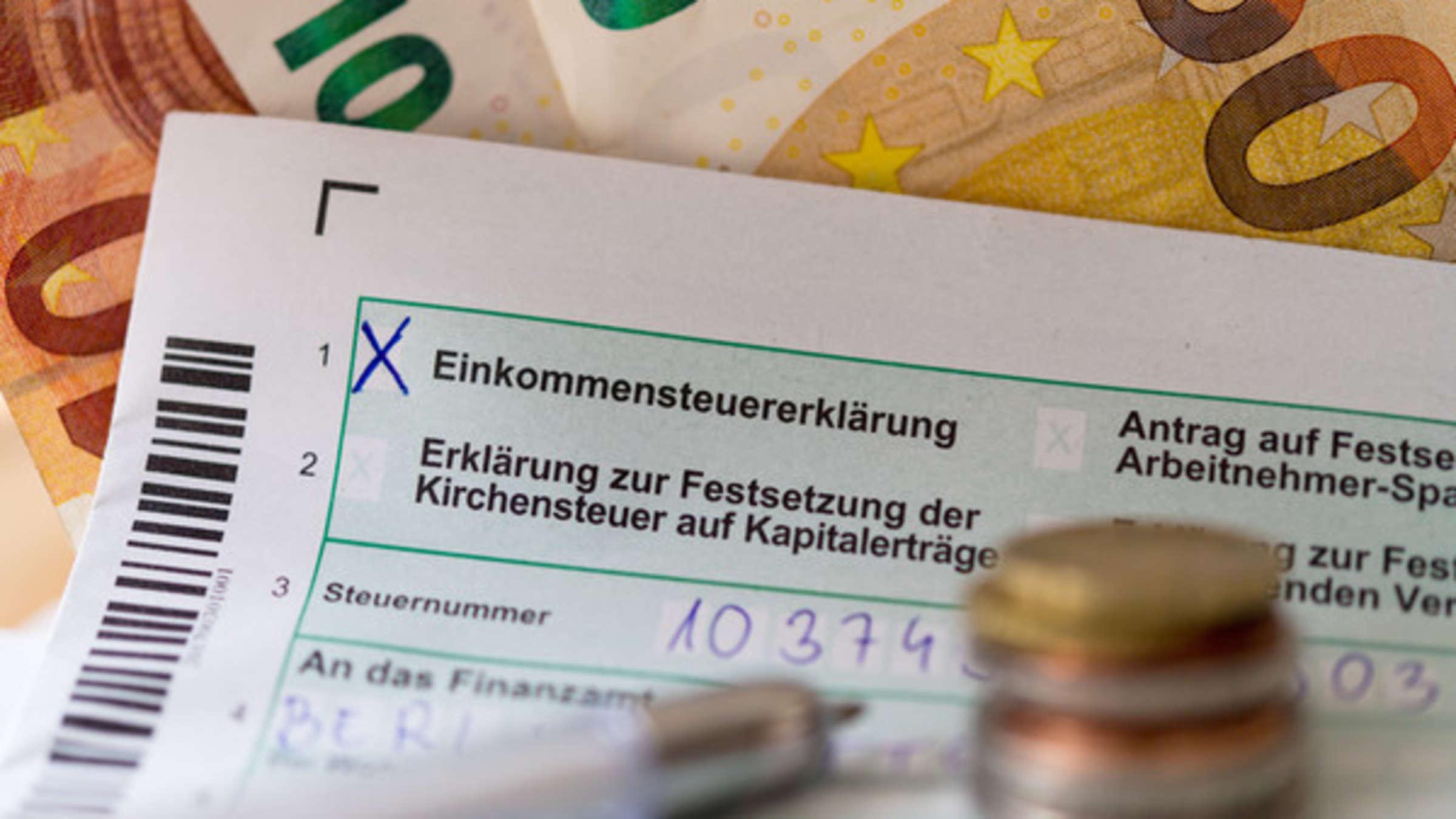 Steuererklärung formular 2020