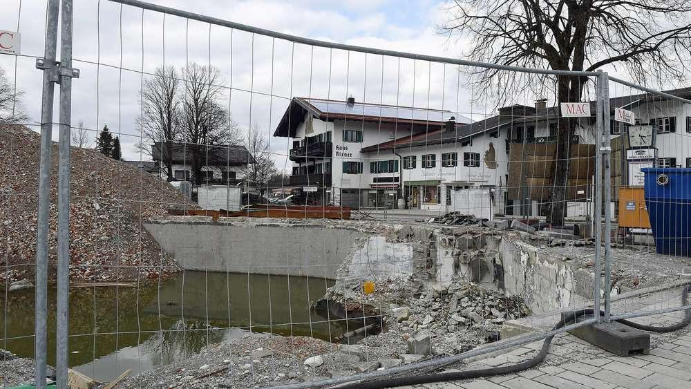 Unmut Im Wiesseer Bauausschuss über Zustand Der Baustelle Am