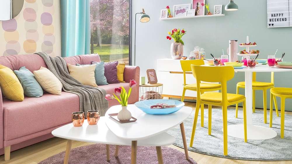 Einrichtungstrend Pastell: Diese Farben frischen Ihre ...