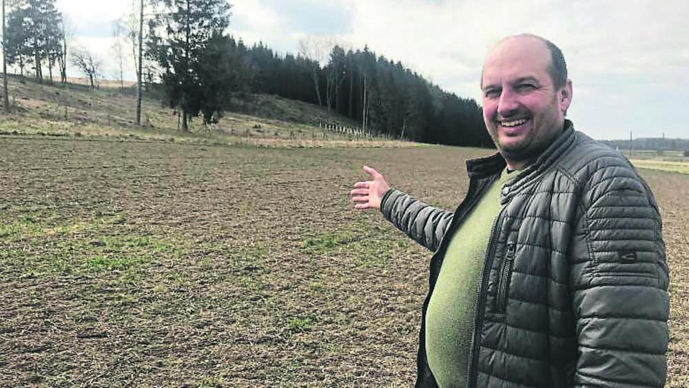 Ein Landwirt zitiert Ein argentinischer Mann