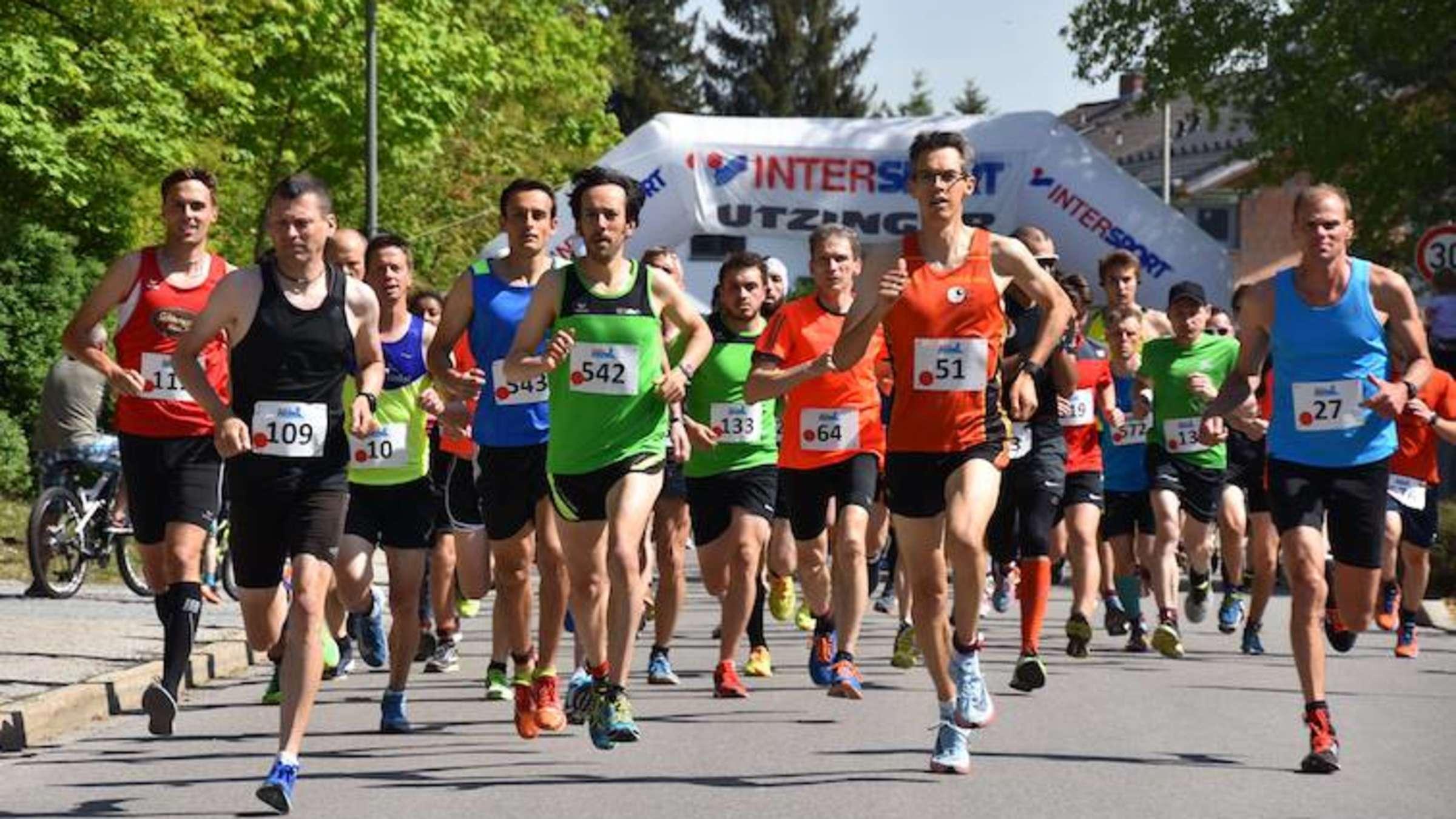 Quer durch Geretsried: Die schnellsten Läufer des Oberlands