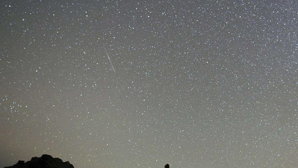 Sternschnuppen Im Mai 2019 So Sehen Sie Die Aquariden Heute Nacht
