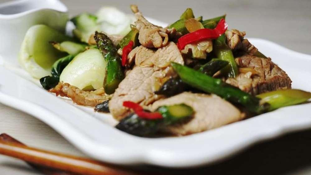 Was Koche Ich Heute Rezept Für Schweinefilet Asiatisch Mit Grünem