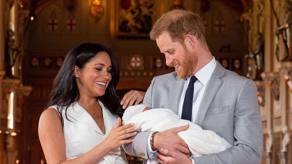 Meghan Im Baby Glück Archies Geburt Könnte Weitreichende Folgen
