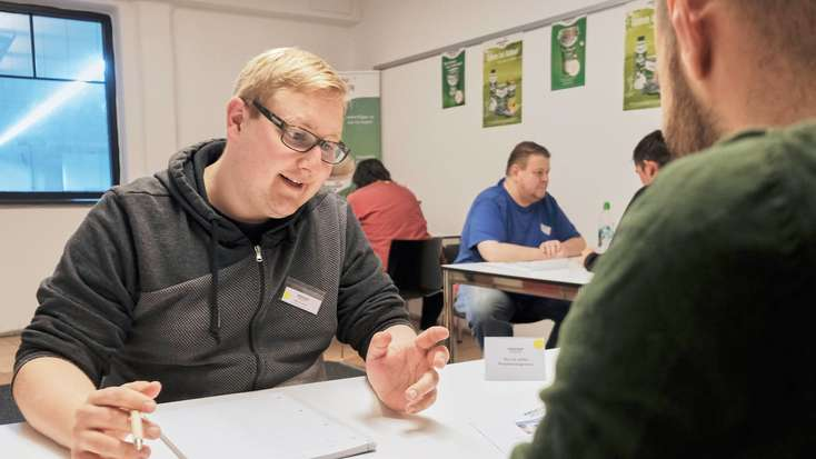 Job-Speed-Dating: Unkonventionelle Situationen in Andechs