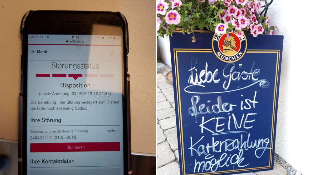 Telekom Ort In Bayern über Tage Ohne Telefon Und Netz
