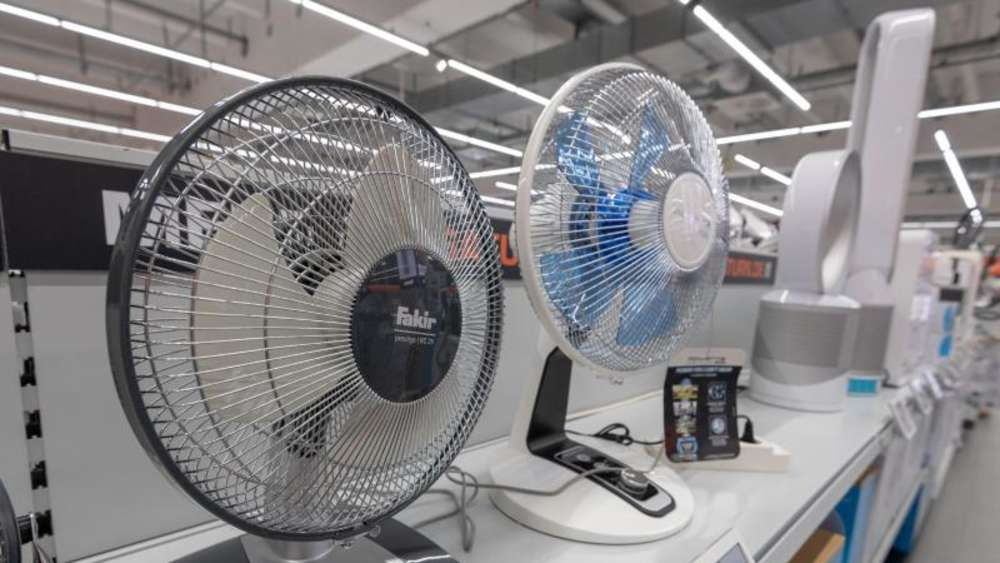 Bei langem Ventilator-Einsatz auf niedrigen dB-Wert achten ...