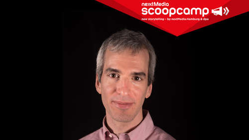 scoopcamp 2019: Jeremy Caplan (City University of New York) kommt nach Hamburg