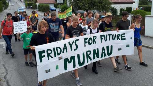 """Fridays for Future"": Schwache Resonanz bei Demo in Murnau"