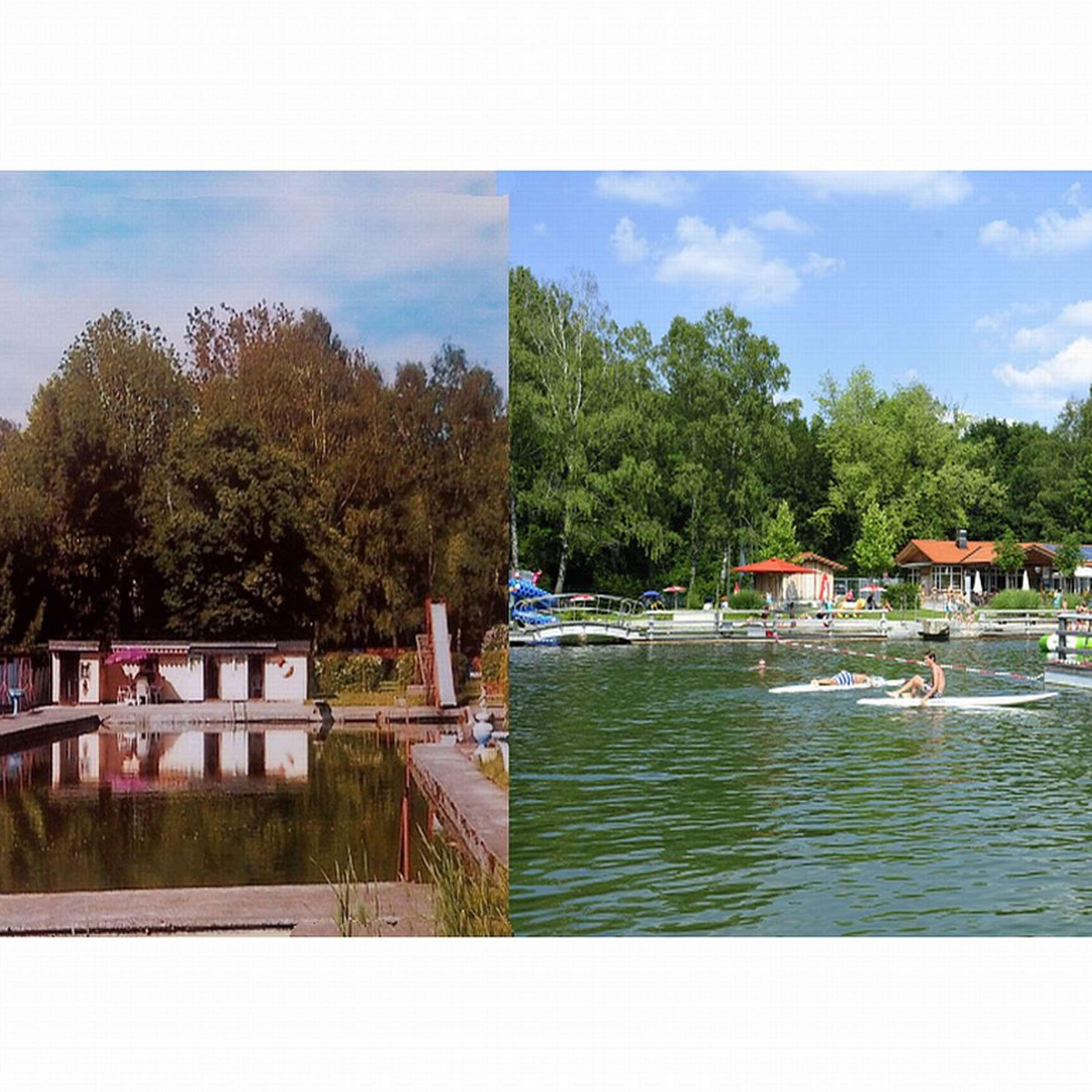 Oberhaching Naturbad Furth feiert Jubiläum   Oberhaching
