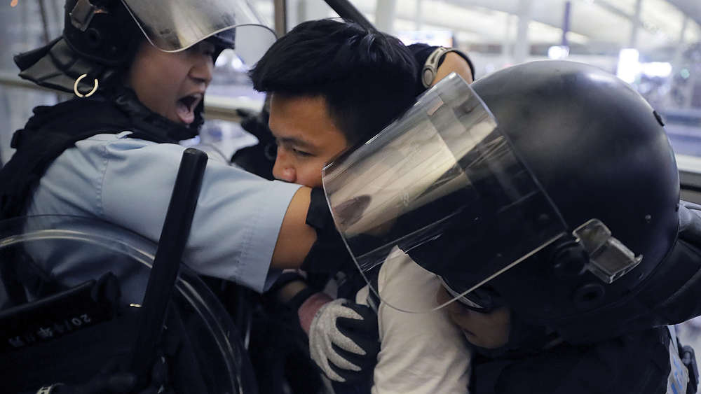 Proteste in Hongkong.