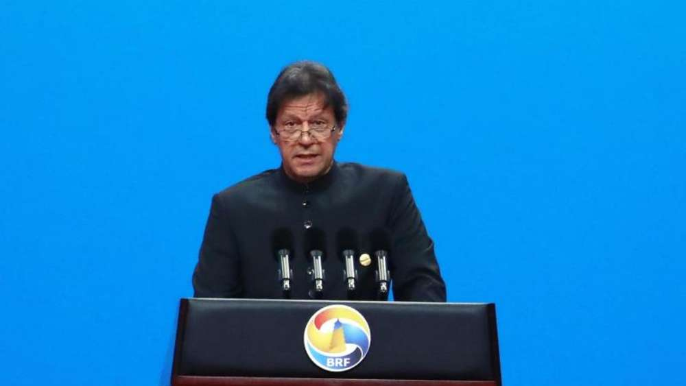 Pakistans Premierminister Imran Khan. Foto: How Hwee Young/European Pressphoto Agency POOL/AP