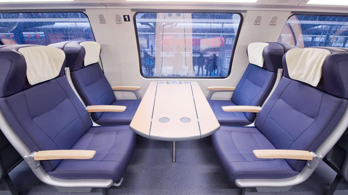 Bahn Erste Klasse