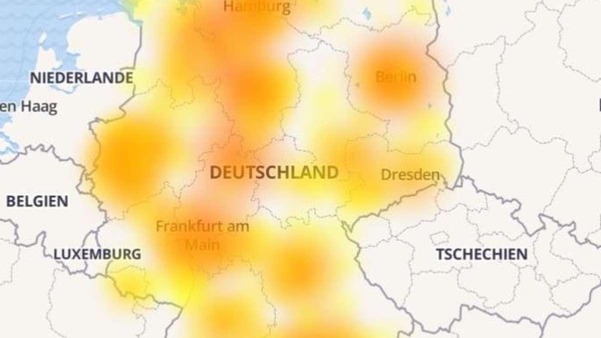 vodafone internet störung trier