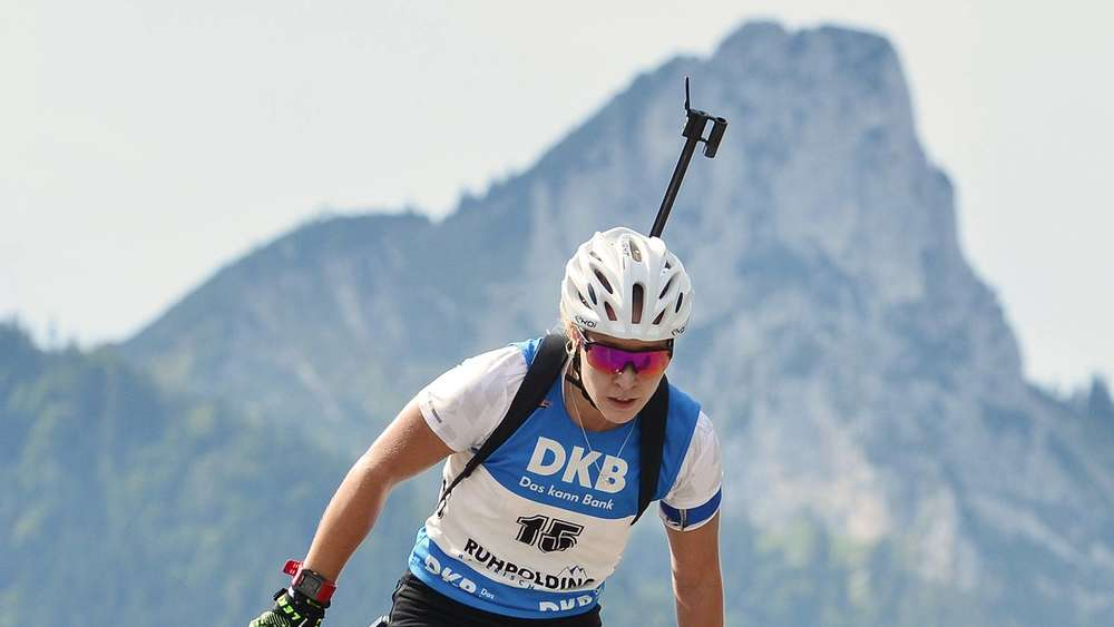 Nicht zufrieden ist Stefanie Scherer vom SC Wall. Ihre Leistungen bei den Deutschen Meisterschaften reichten nicht für eine IBU-Cup-Nominierung.