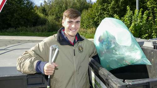 World Cleanup Day: Röger räumt auf