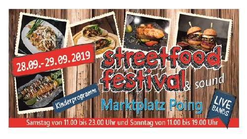 1. Streetfood Festival in Poing - Diese Highlights erwarten Sie
