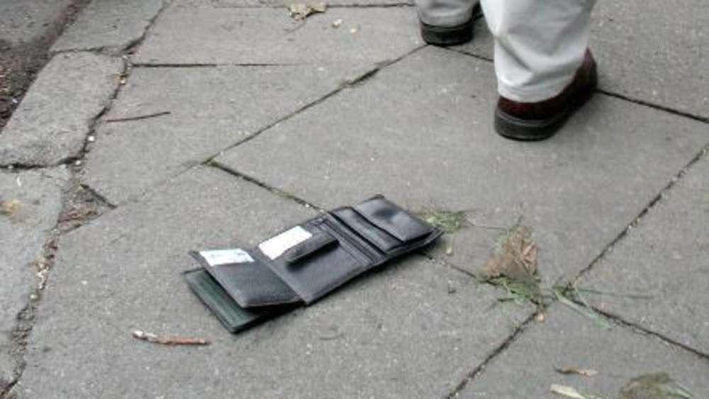 Haben Sie schon mal 20 Euro auf der Straße gefunden? Dann besser Finger weg