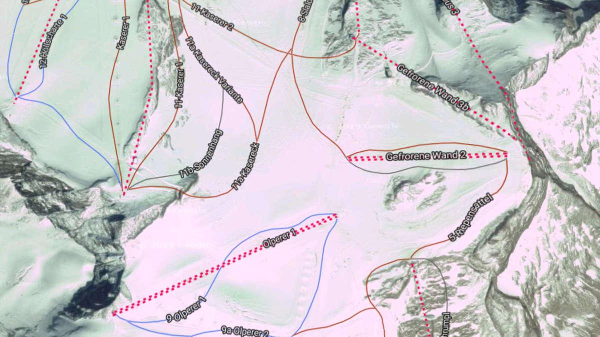 Tirol: Chinese (29) stürzt mit Snowboard am Hintertuxer Gletscher ab   Welt - merkur.de