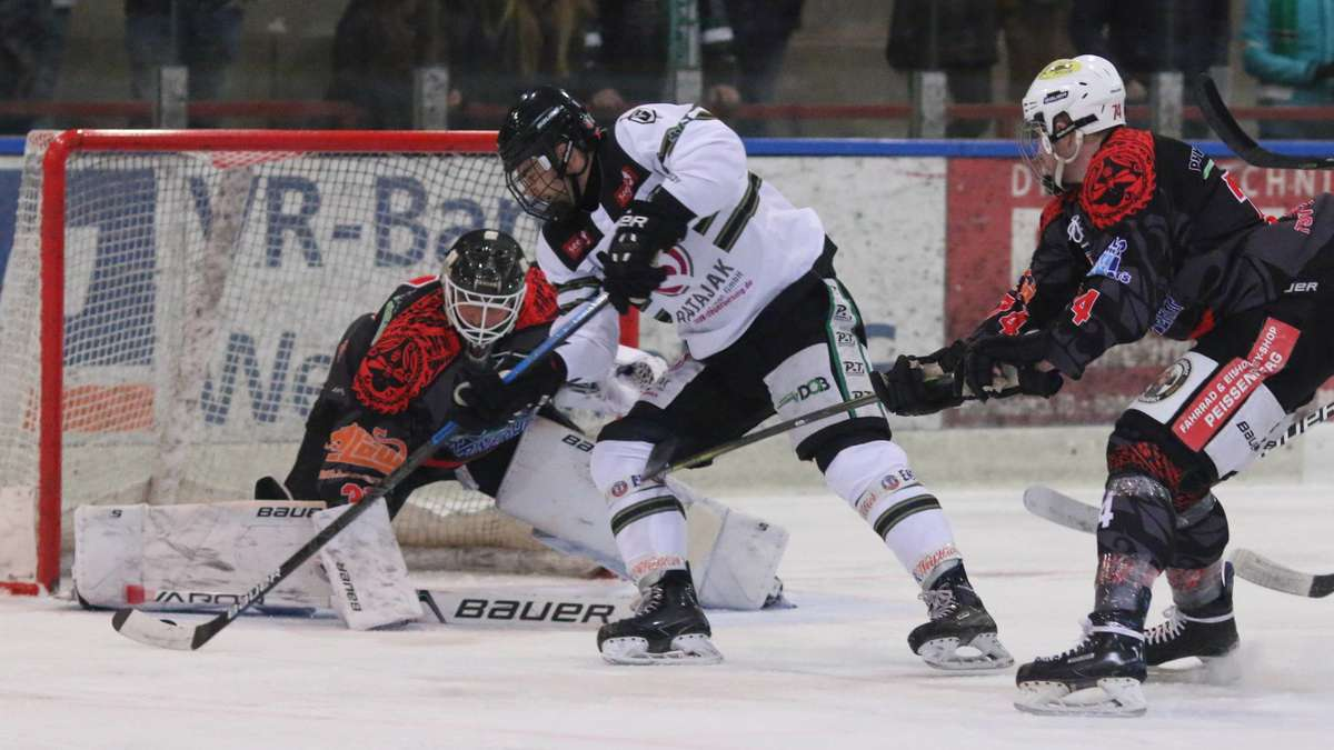 Eishockey: TSV Peißenberg verliert in Bayernliga gegen Gladiators | TSV Peissenberg - Merkur.de