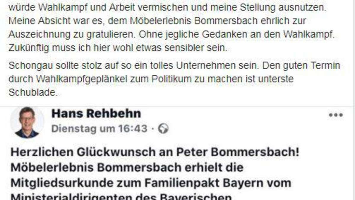 """Kommunalwahl 2020/Schongau: Hans Rehbehn will im Wahlkampf """"sensibler vorgehen""""   Schongau - merkur.de"""