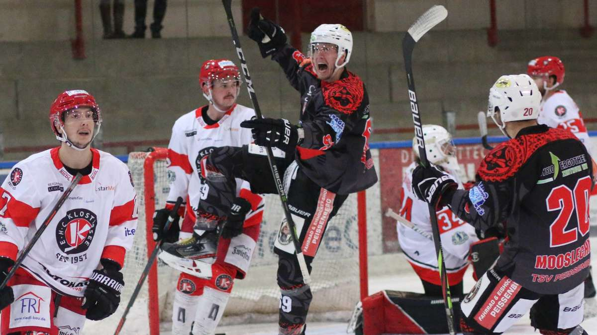 Eishockey Bayernliga TSV Peißenberg bezwingt EHC Klostersee | TSV Peissenberg - Merkur.de