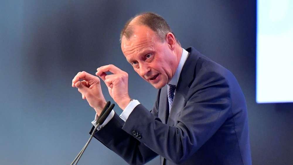 CDU-Parteitag: Merz schont AKK - und attackiert dafür Greta Thunberg