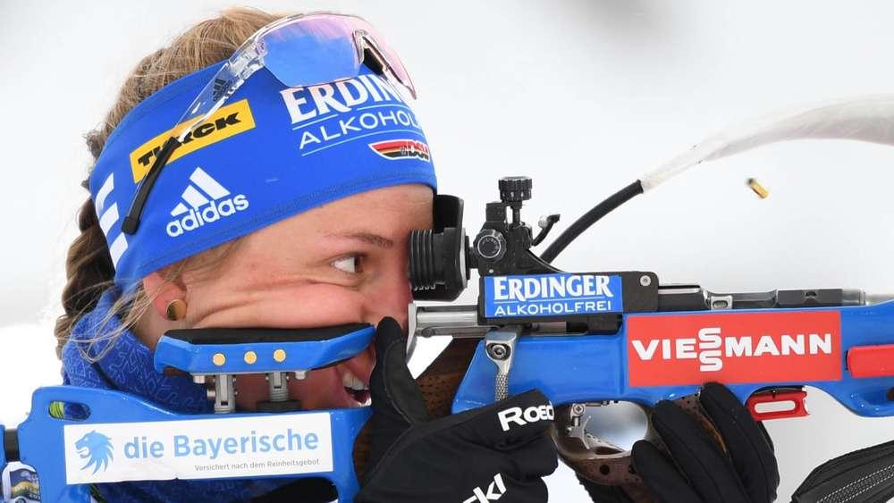 Es geht wieder los: Vanessa Hinz vom SC Schlierseer steigt am Sonntag in den Biathlon-Weltcup in Östersund ein.